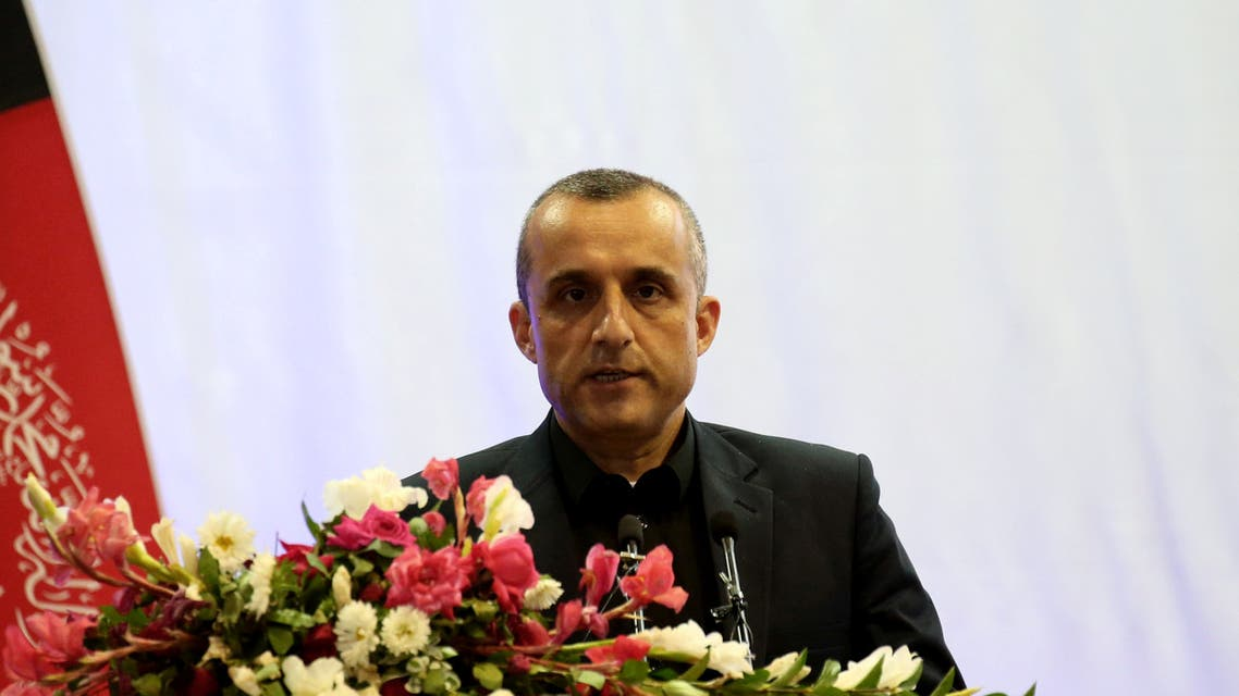 Amrullah Saleh first vice-presidential candidate of Ashraf Ghani speaks during the presidential election campaign in Kabul, Afghanistan September 13, 2019. (File photo: Reuters)