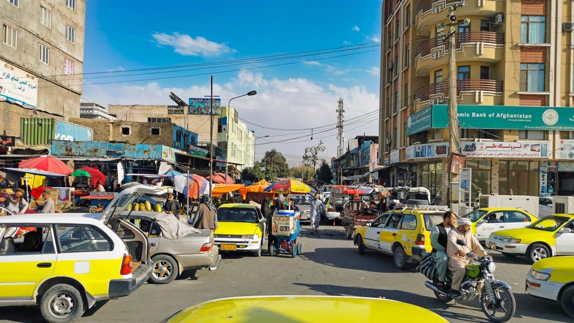 أفغانستان فقر من احدى الأسواق الأفغانية كابل