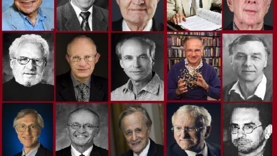 25 تن از برندگان جایزه نوبل