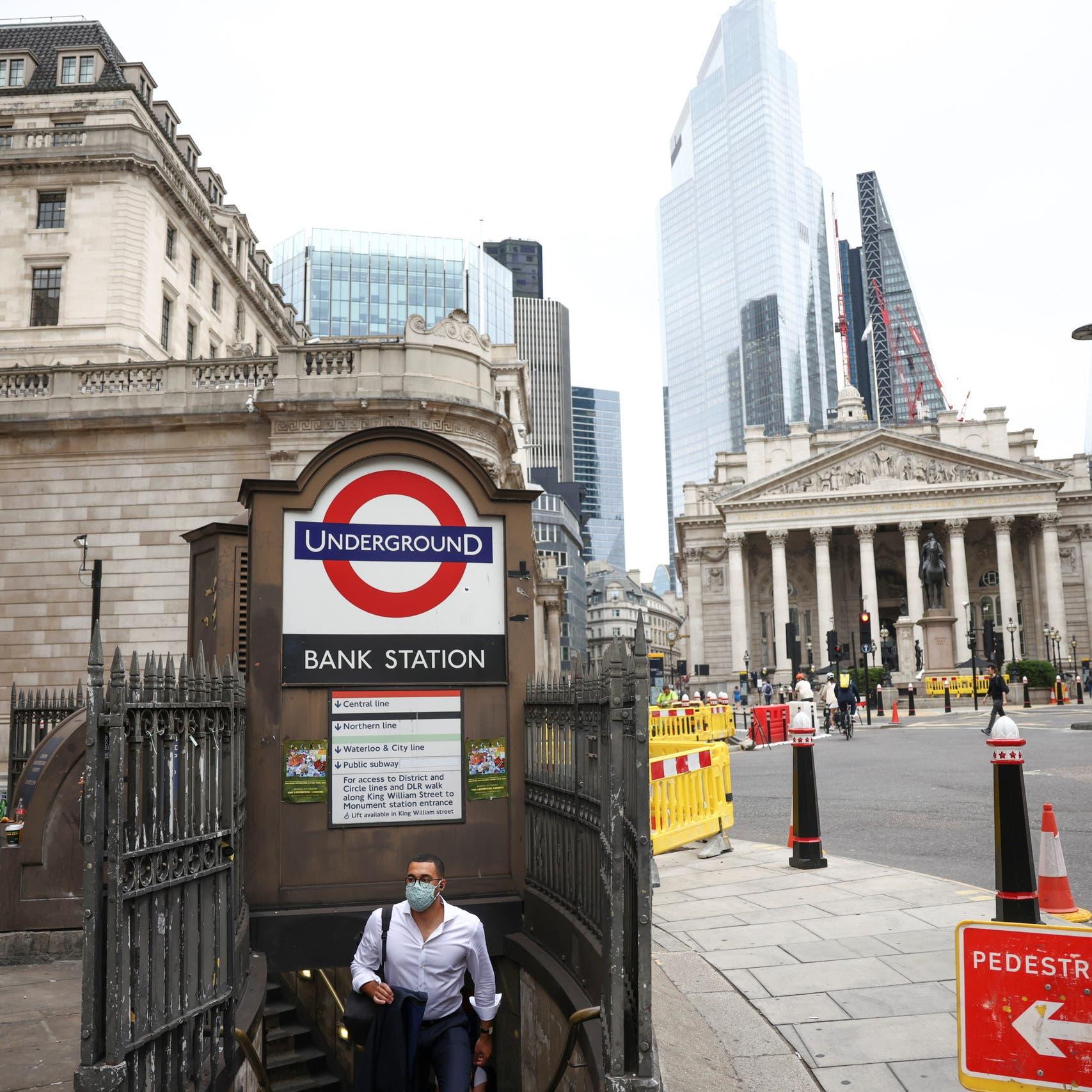 تعافي اقتصاد بريطانيا يتباطأ بشكل حاد في يوليو