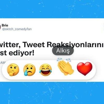 تويتر تختبر الرد على التغريدات بالرموز التعبيرية