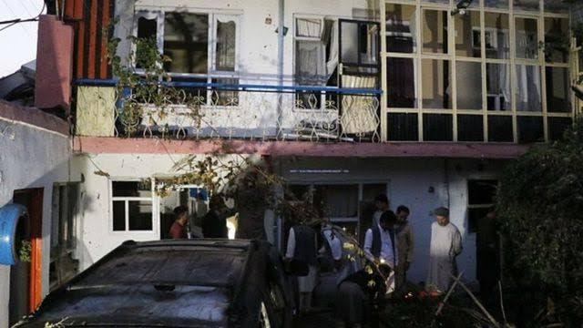 حمله اشتباهی نیروهای آمریکایی در کابل