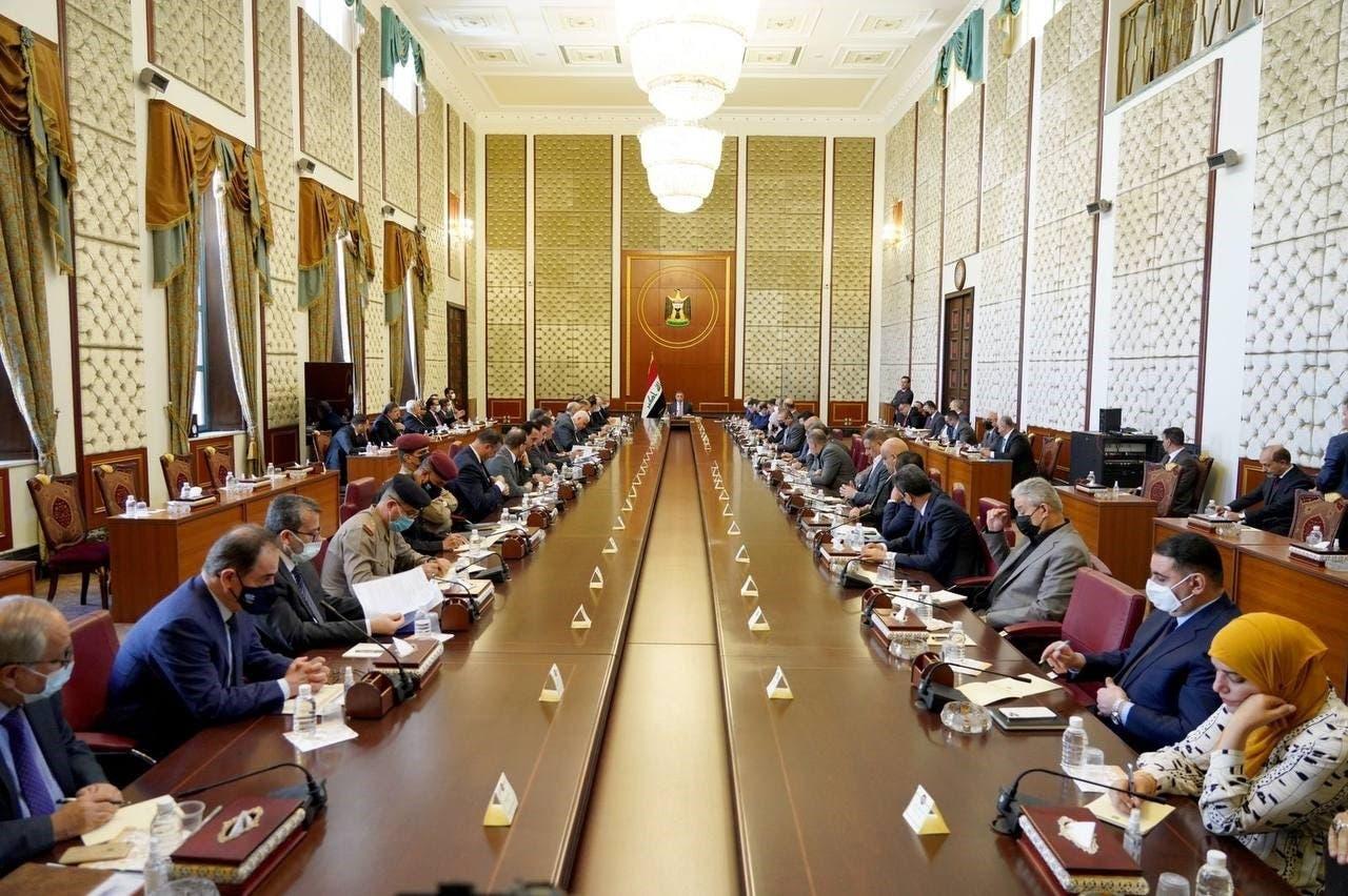 الكاظمي مترئسا جلسة استثنائية لمجلس الوزراء