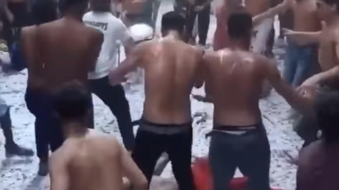 من رقص نصف عراة في مصر