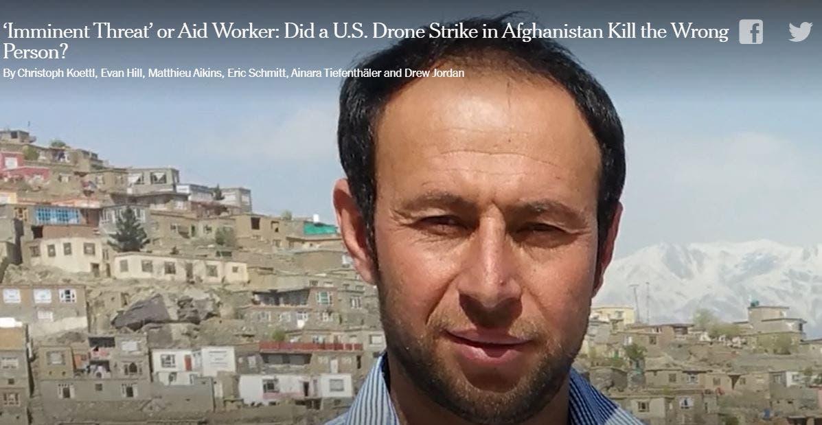 إزمراي أحمدي نقلاً عن صحيفة نيويورك تايمز