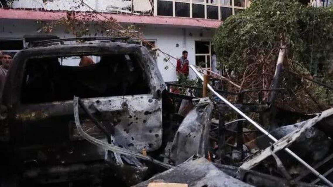 حمله اشتباهی نیروهای آمریکا در کابل