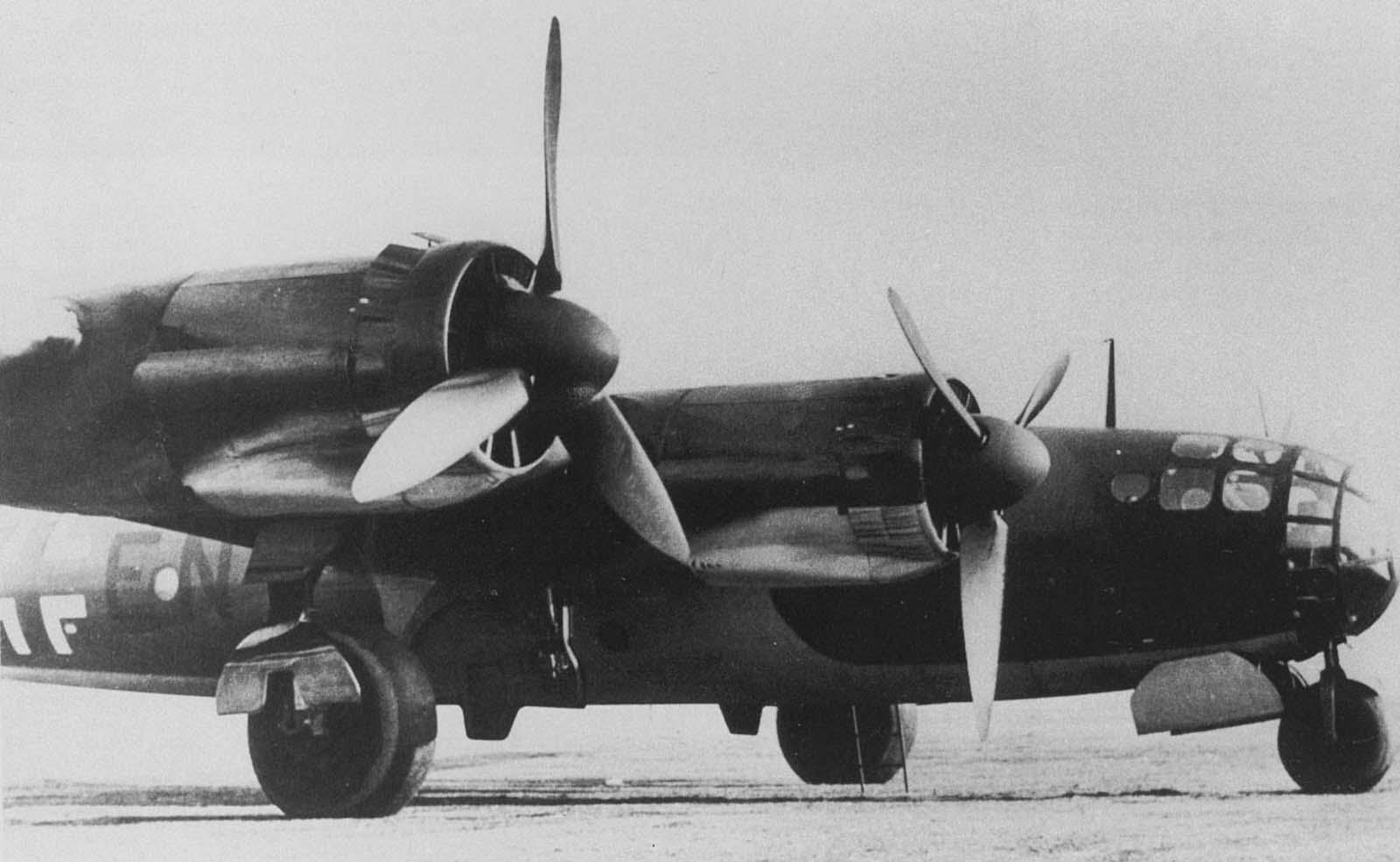 قاذفة قنابل ألمانية من نوع مسرشميت مي 264