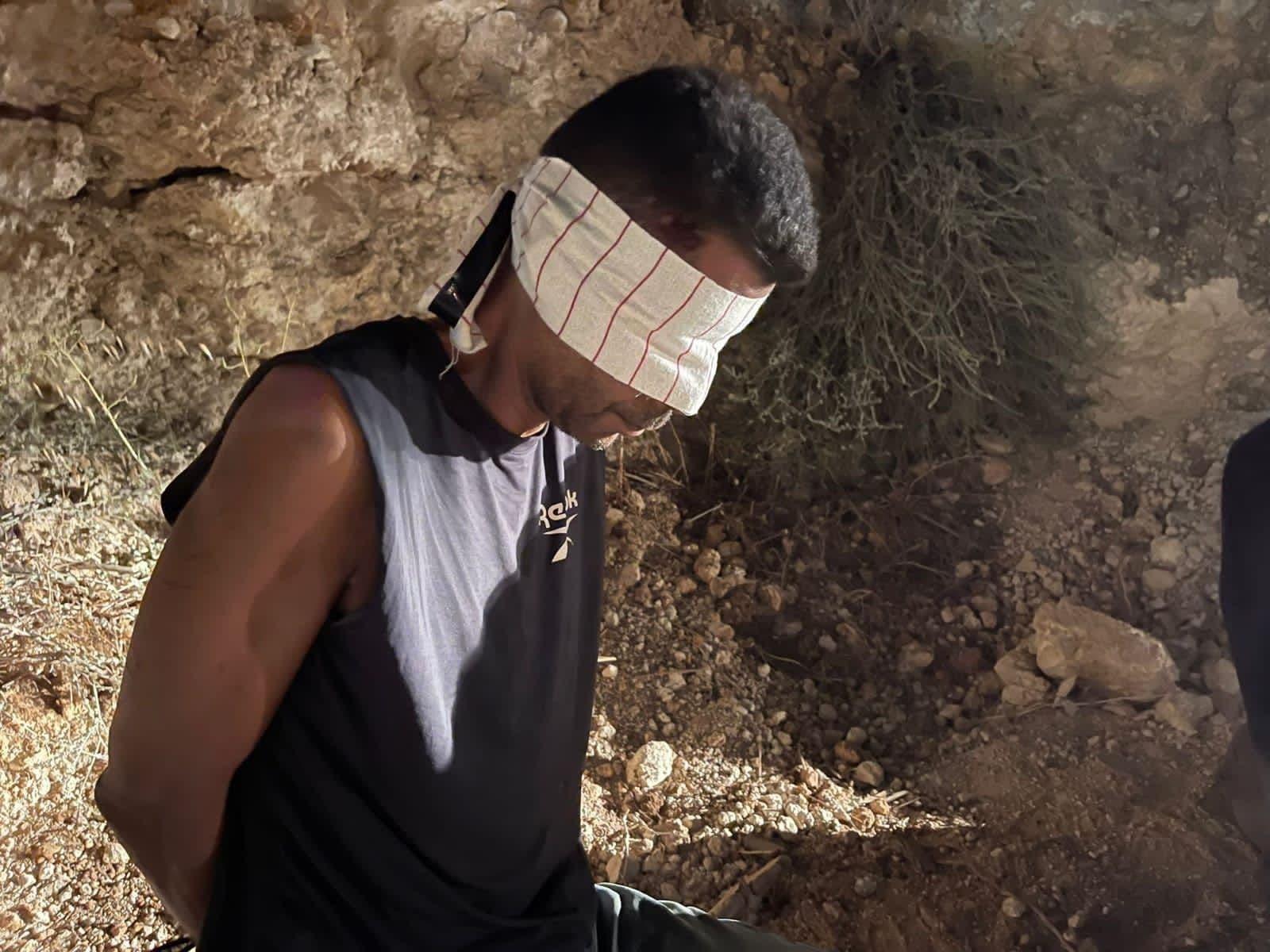 من عملية اعتقال الأسيرين الفلسطينيين