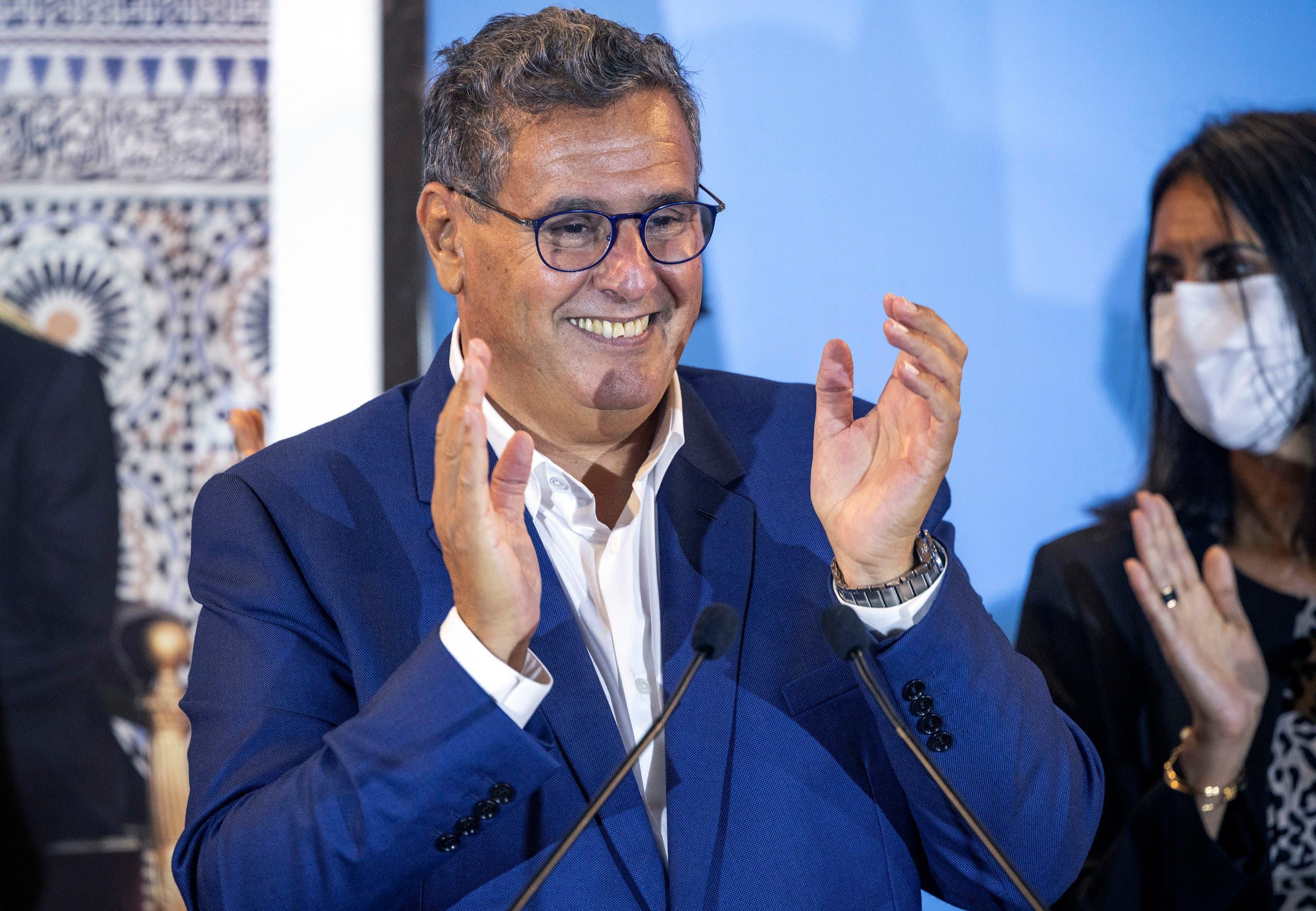 رئيس الحكومة المغربية المكلف عزيز أخنوش