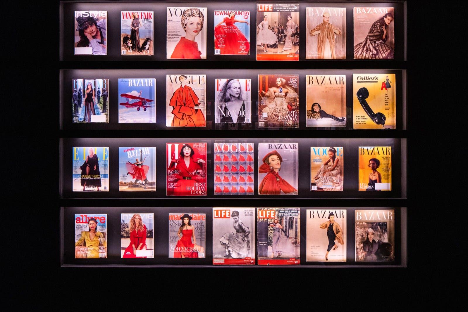 تصاميم ديور على أغلفة أشهر مجلات الموضة العالمية