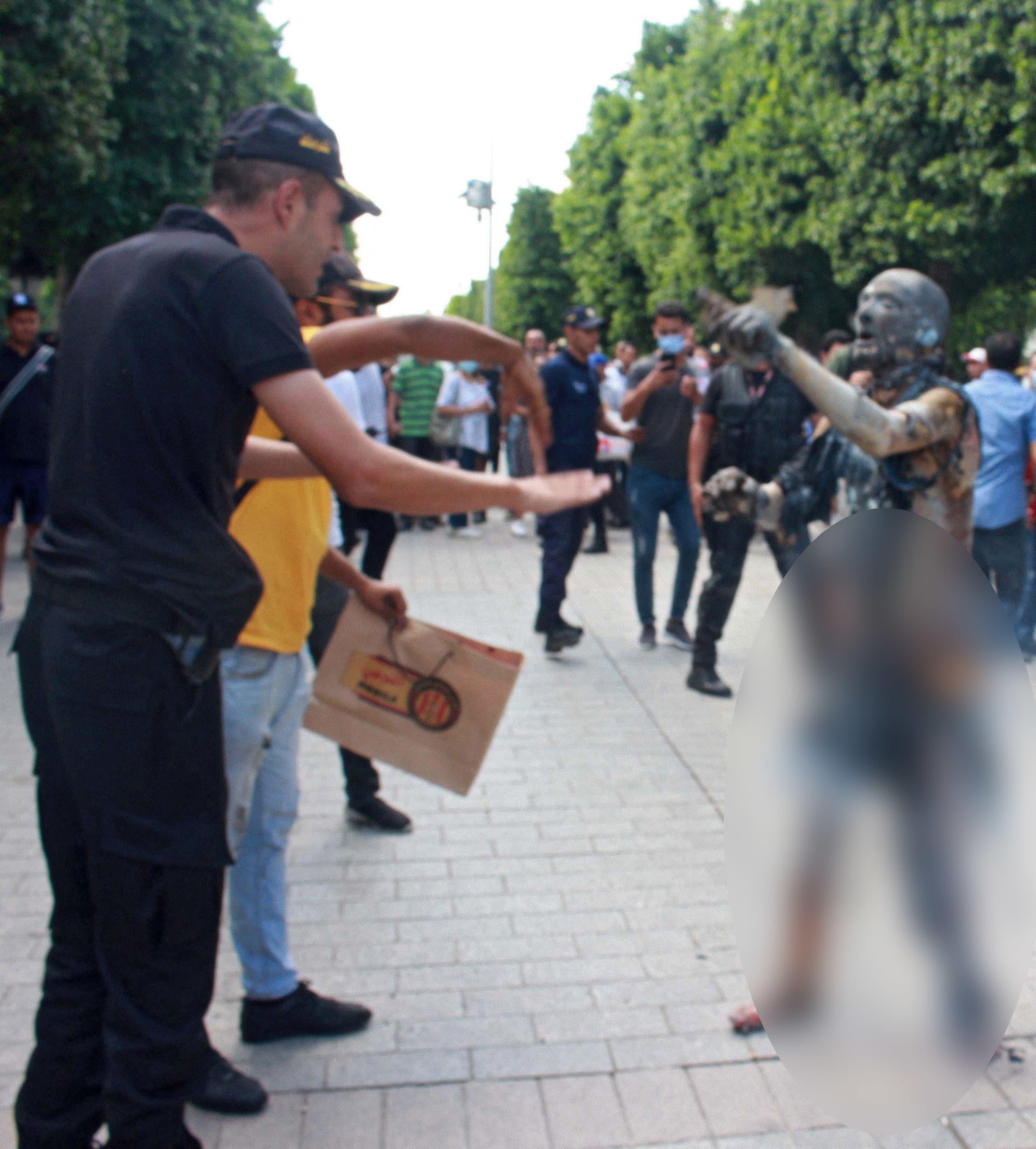 تونسي أحرق نفسه (فرانس برس)