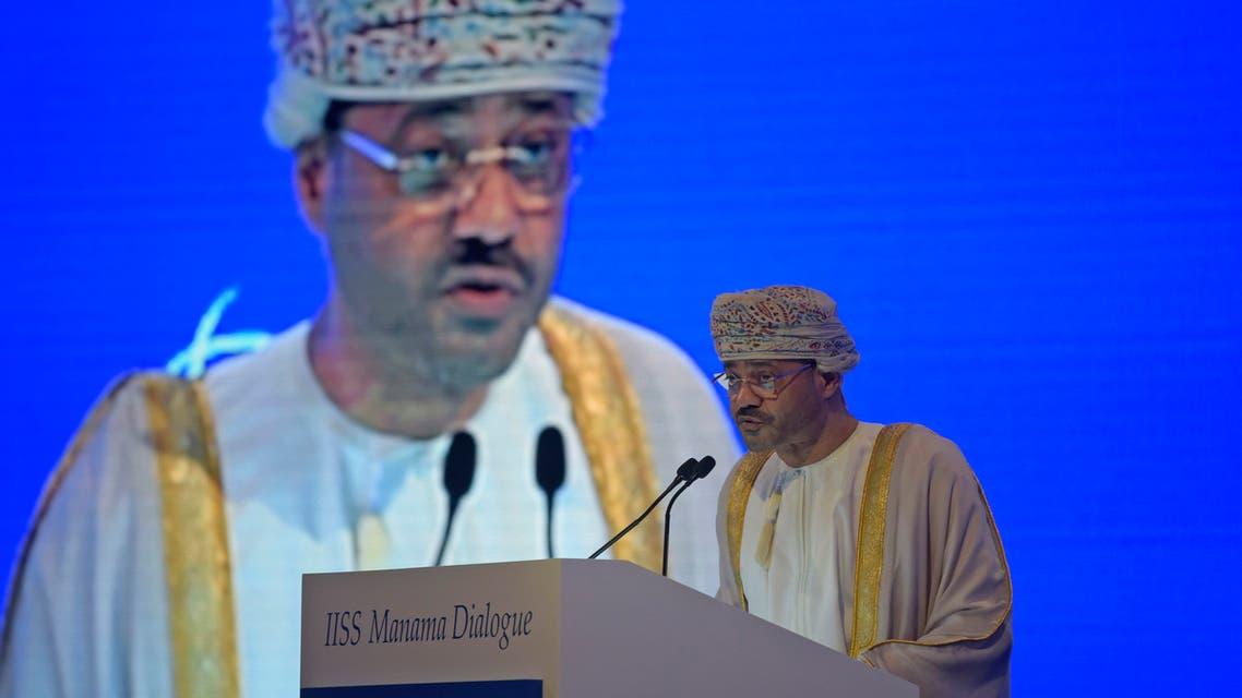 وزير الخارجية العماني، بدر بن حمد بن حمود البوسعيدي(أرشيفية- فرانس برس)