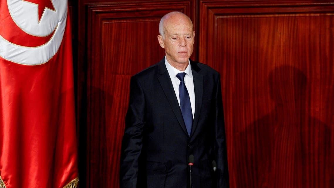 Tunisian President Kais Saied. (File photo: Reuters)