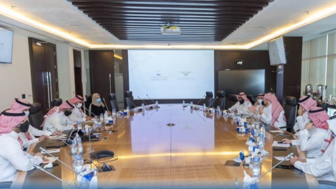 لقاء مسؤولي هيئة السوق المالية مع مسؤولي هيئة عقارات الدولة