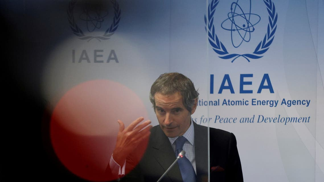 رئيس الوكالة الدولية للطاقة الذرية رفائيل غروسي(أرشيفية- رويترز)