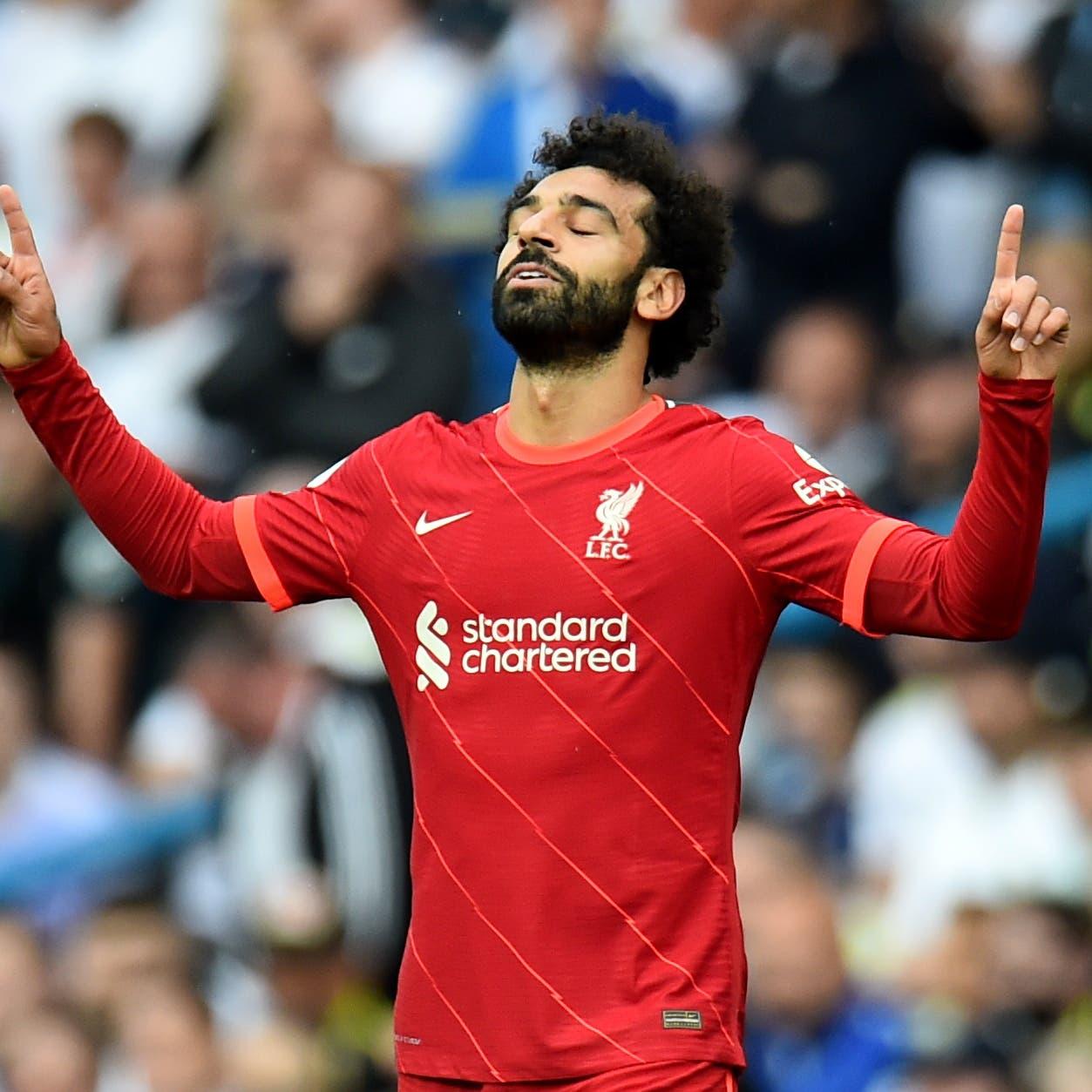 محمد صلاح يصل إلى 100 هدف في الدوري الإنجليزي