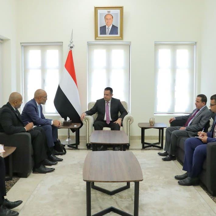 رئيس حكومة اليمن: لا بديل عن الالتزام باتفاق الرياض