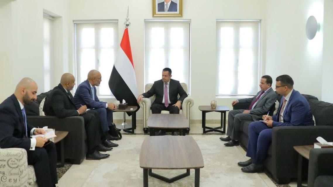 رئيس وزراء اليمني يلتقي السفير الهولندي في اليمن