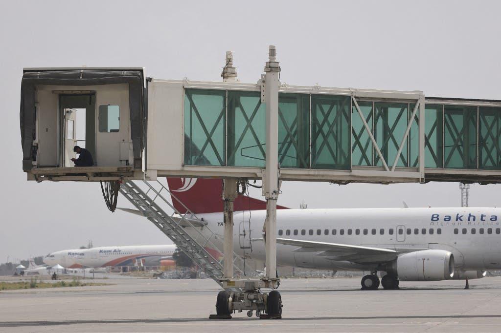 من مطار كابل (أرشيفية- فرانس برس)