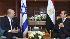 Israeli PM meets Egyptian President in first official trip to Egypt for a decade