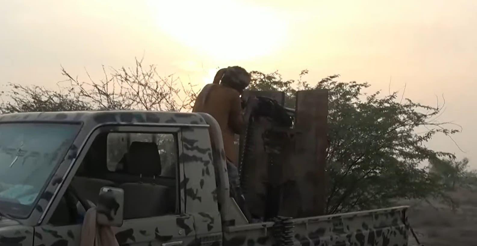 عنصر من الجيش اليمني