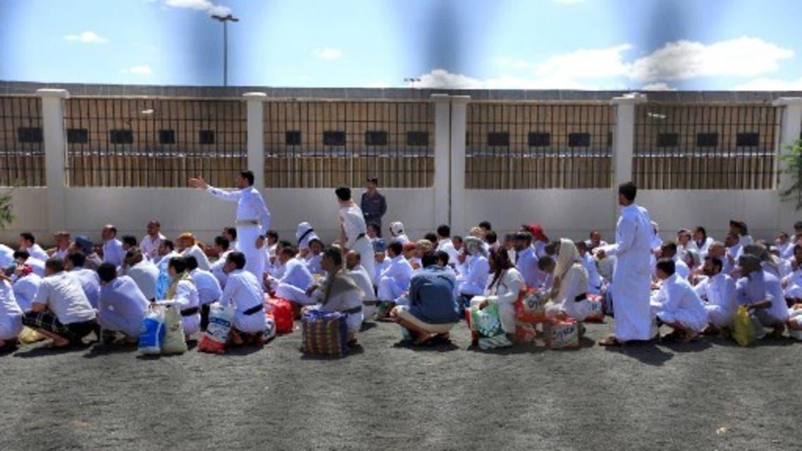 من سجن صنعاء المركزي (أرشيفية- فرانس برس)