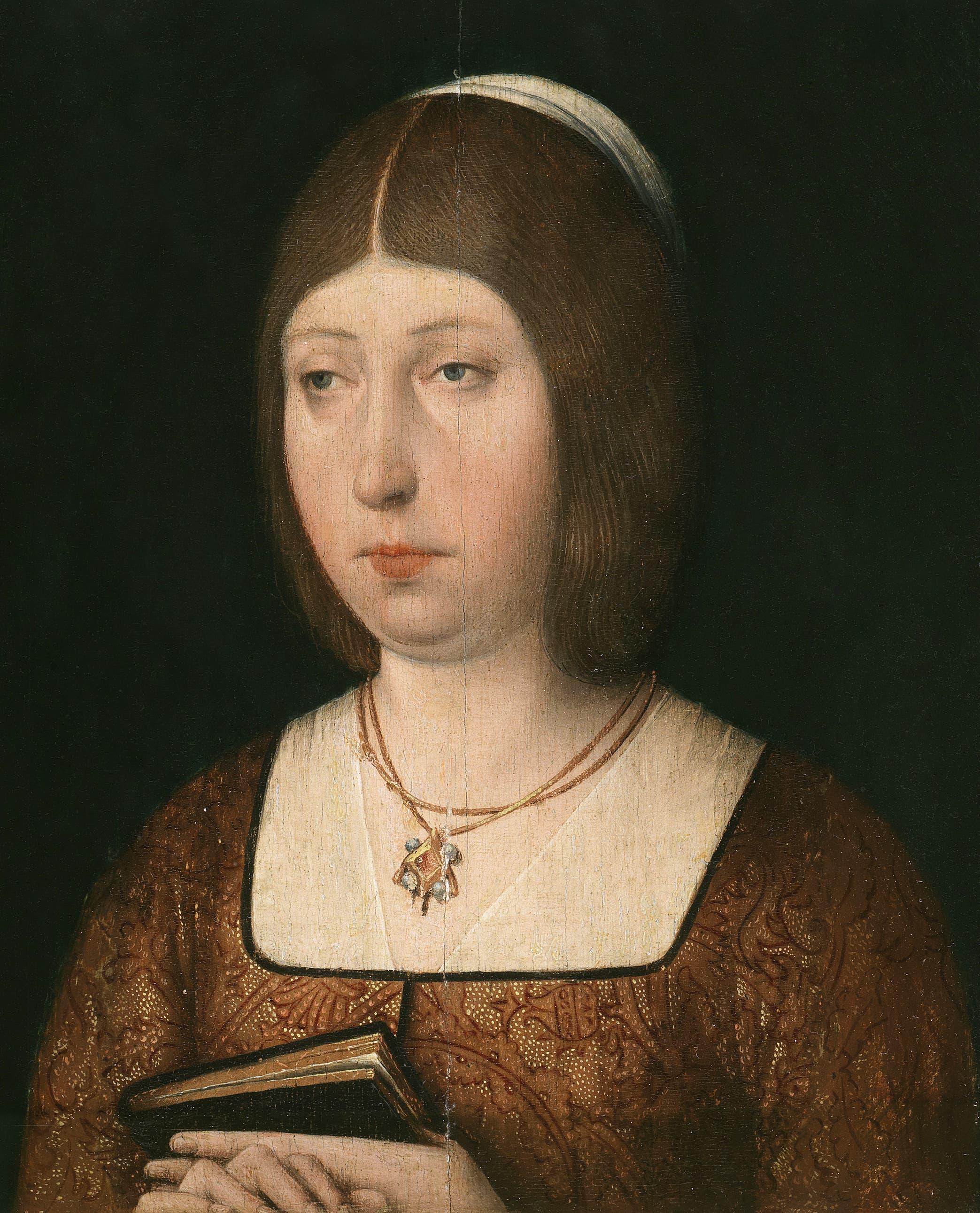 لوحة تجسد الملك إيزابيلا الأولى