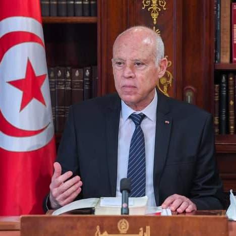 رئيس تونس يتعهد بقانون انتخاب ورئيس حكومة واستمرار التدابير