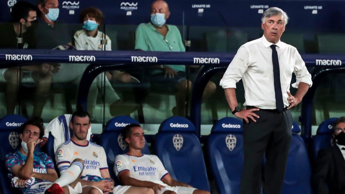 أنشيلوتي يتعاطف مع مدرب برشلونة