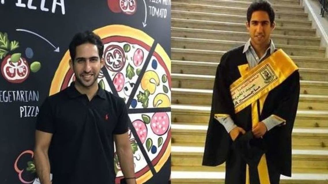 Amr Fahmy, a 32-year-old Egyptian, is a university professor during the day, and a pizza chef by night. (Supplied)