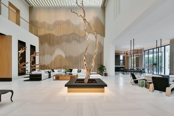 The 'Tree of Life' villa in Dubai Hills Estate. (Supplied: Luxhabitat)