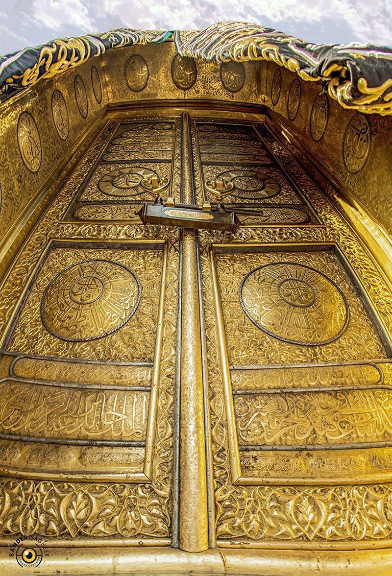 باب الكعبة - تصوير بندر صغير