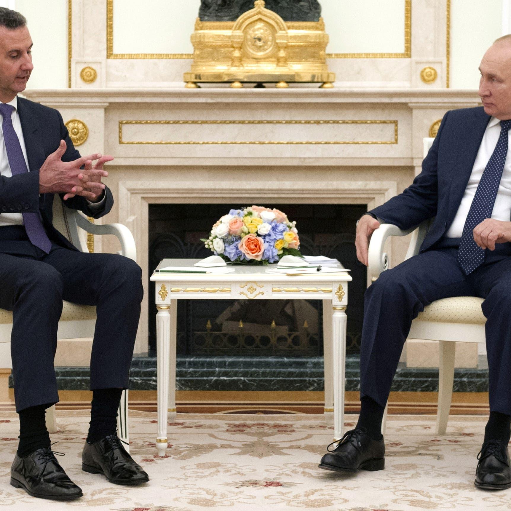 التقى الأسد.. بوتين يعلن إصابة العشرات في محيطه بكورونا