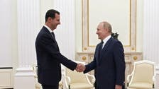 Russia's Putin criticizes foreign interference in Syria during talks with Assad
