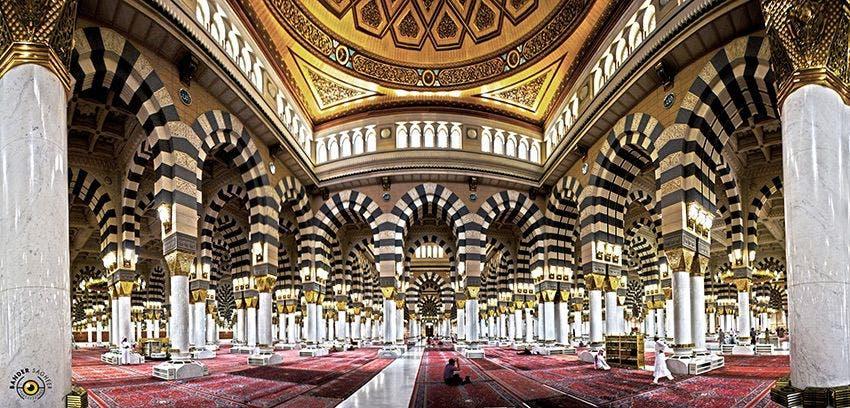 المسجد النبوي - تصوير بندر صغير