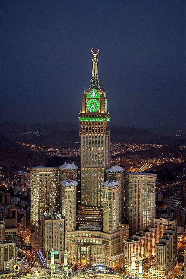 برج الساعة - تصوير بندر صغير
