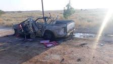 Drones strike Iran-backed militia vehicles near Bukamal on Iraq-Syria border: Monitor
