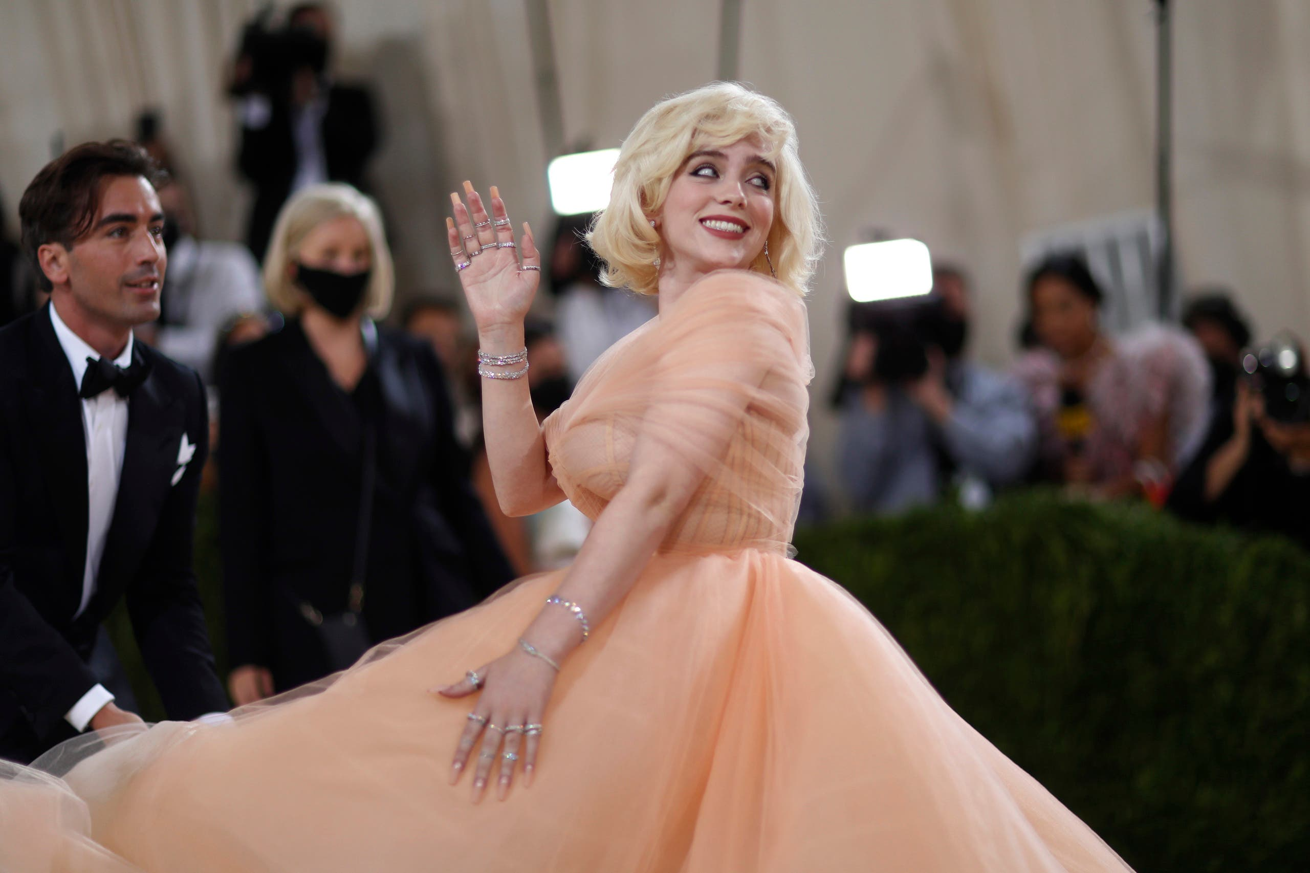 Metropolitan Museum of Art Costume Institute Gala - Met Gala - In America: A Lexicon of Fashion - Arrivals - New York City, US - September 13, 2021. Billie Eilish. (Reuters)