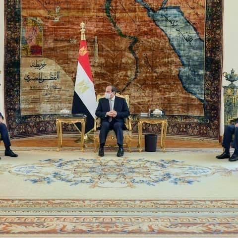 السيسي: مصر ترفض التدخلات الخارجية في شؤون العراق
