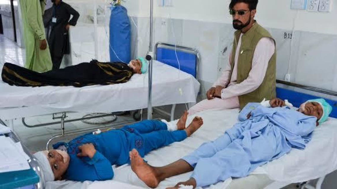 مجروحان افغانستانی