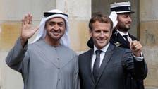 France's Macron meets with Abu Dhabi Crown Prince in Paris