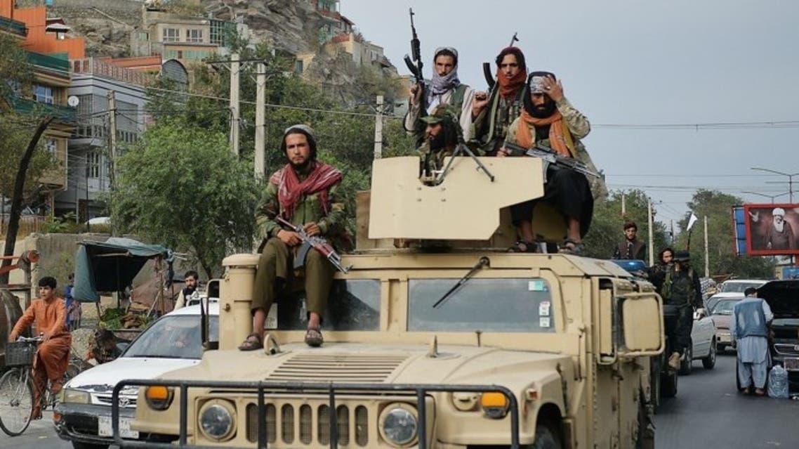 مدرعة أميركية سقطت بأيدي طالبان