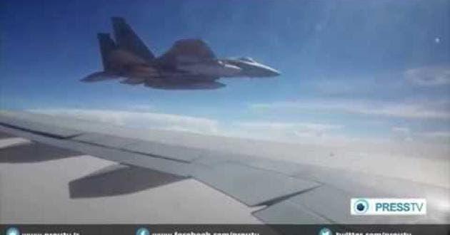 مقاتلة من التحالف تحذر طائرة إيرانية من الهبوط في صنعاء