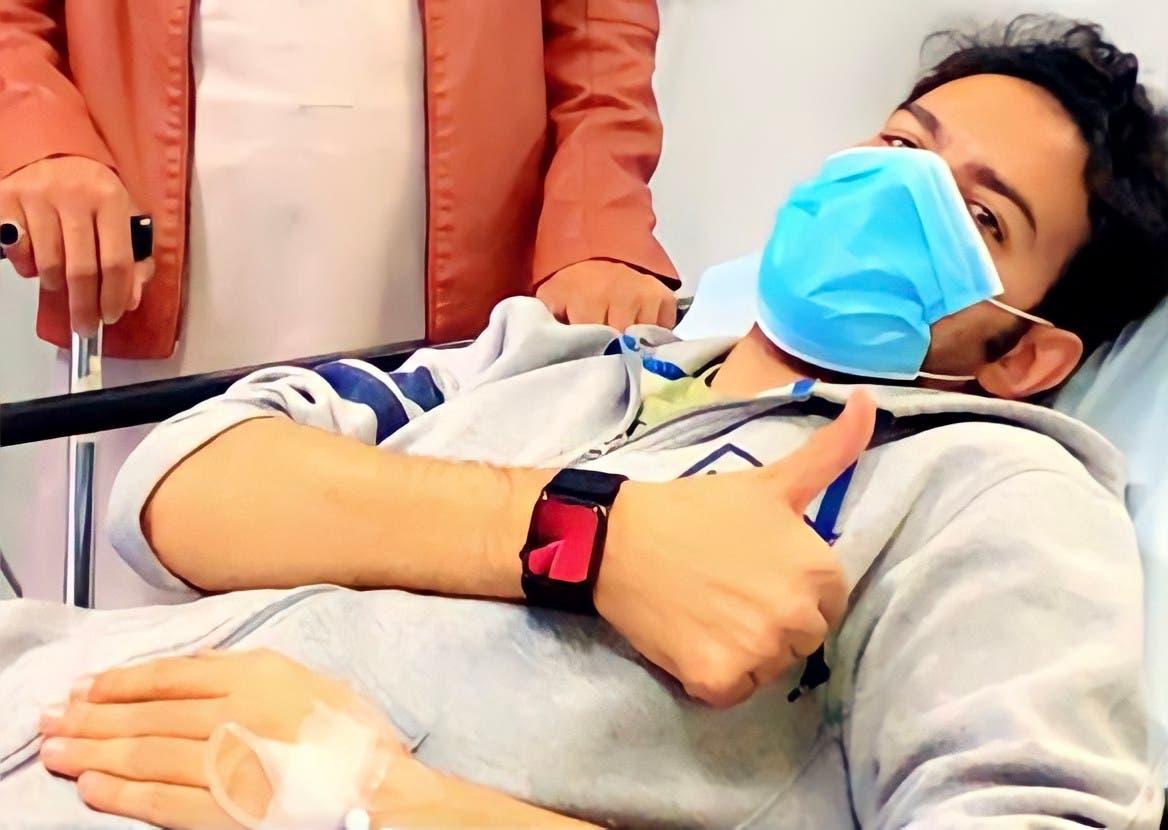 حمد بن جروان في رحلة العلاج