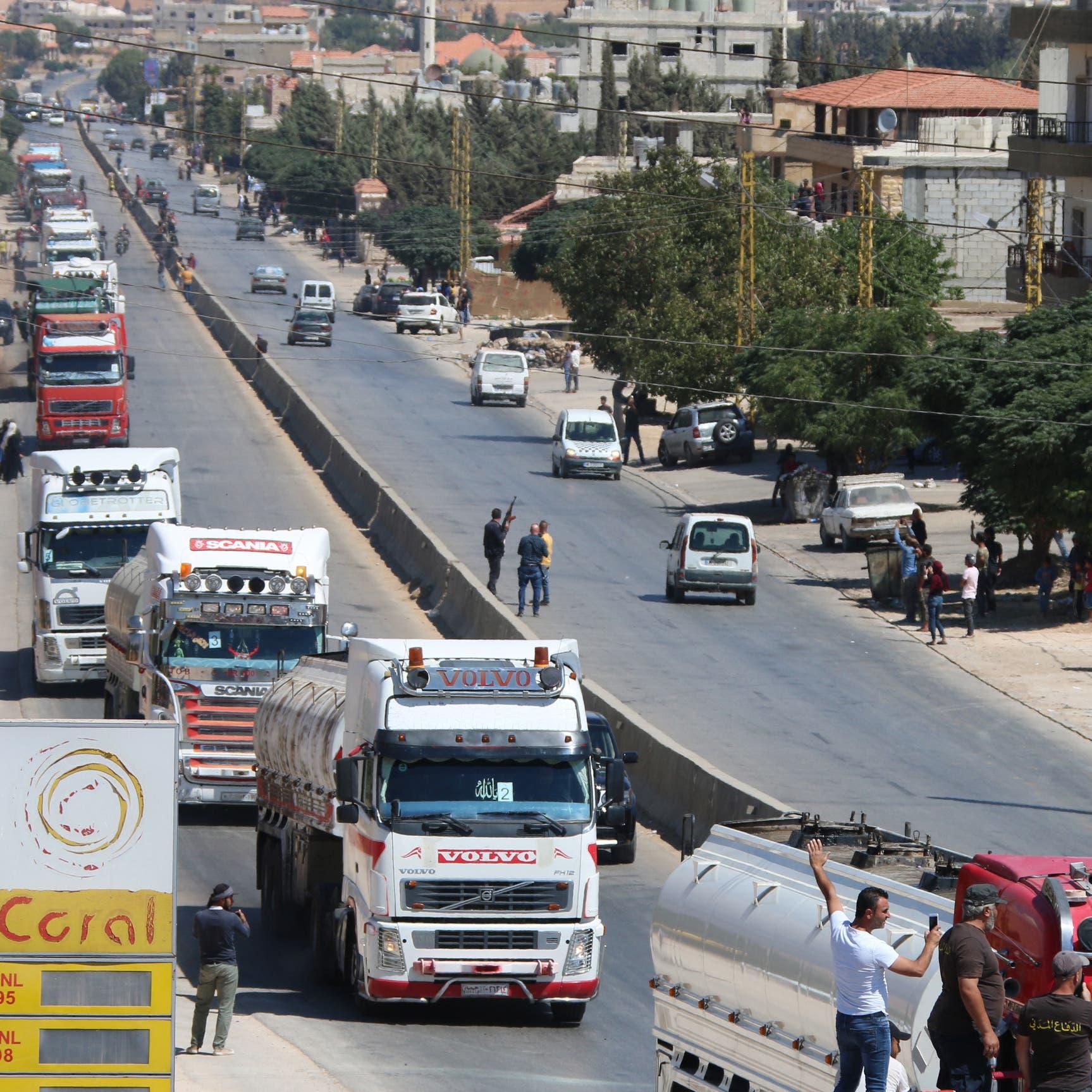 """بين المدنيين.. عناصر حزب الله يطلقون الـ """"آر بي جي"""""""
