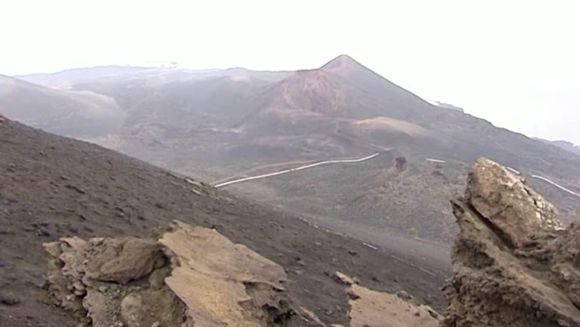 The Teneguia volcano in Spain's Canary island of La Palma. (Reuters)