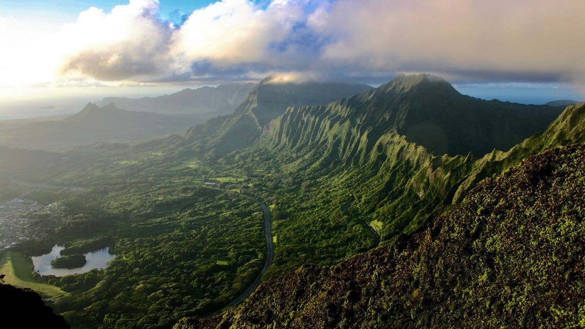 Hawaii's well-known Haiku Stairs, generally known as the 'Stairway to Heaven', are billed to be removed in 2022 amid a string of trespassing incidents and injuries. (Unsplash)