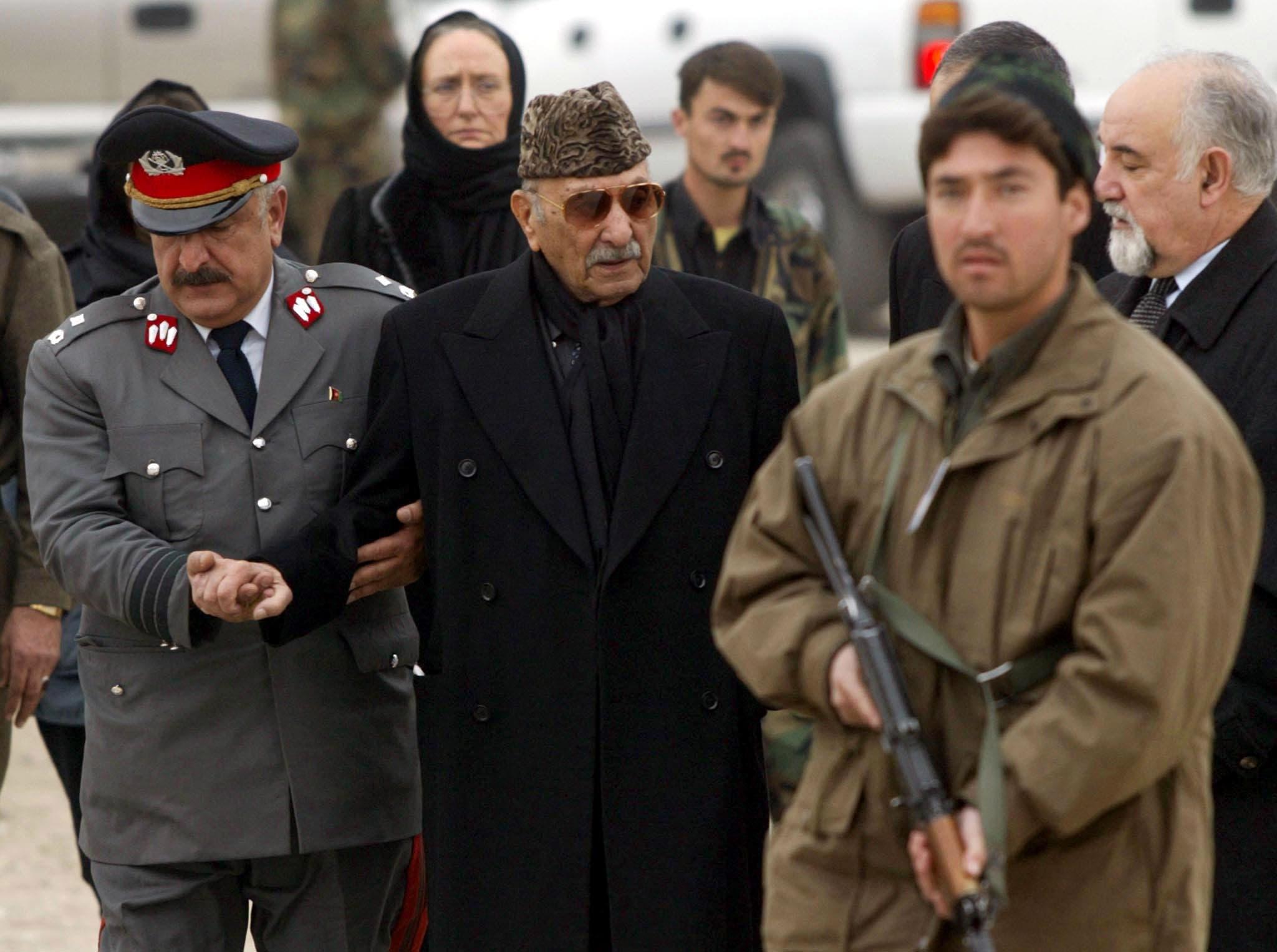 محمد زاهر شاه (رويترز)
