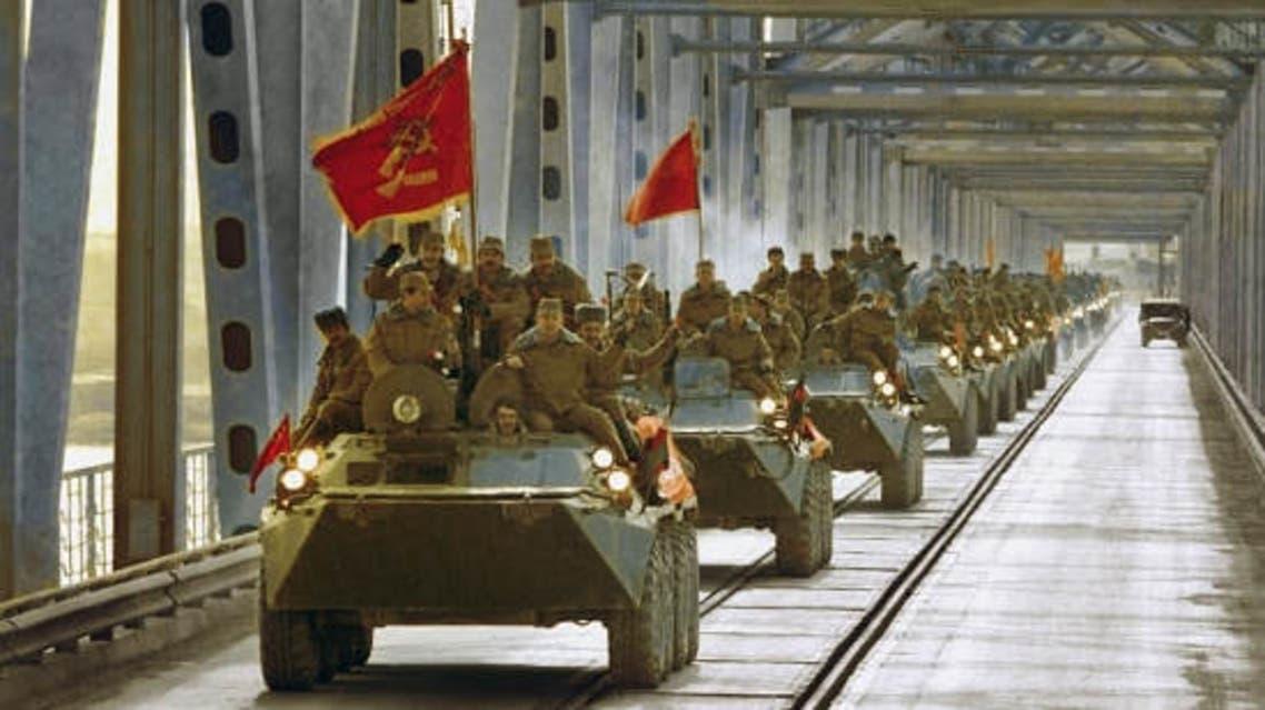 جنود سوفييت في أفغانستان