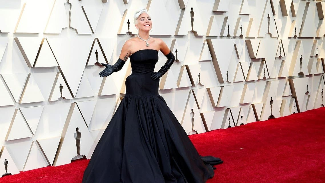 Lady Gaga attends the Oscars wearing Alexander McQueen, Hollywood, Los Angeles, California, US, February 24, 2019. (Reuters/Mario Anzuoni)
